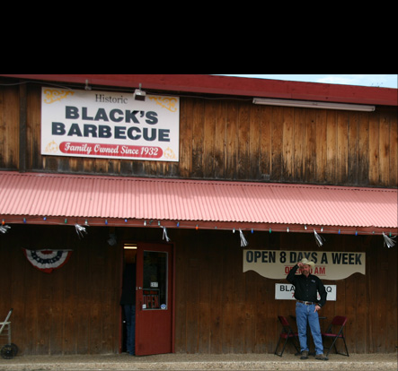 Black's Barbecue Exterior