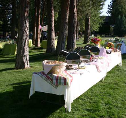 Catering Outdoors