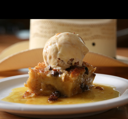 New Orleans style Bread Pudding from Slick's Que